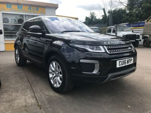 ***SOLD***Range Rover Evoque SE ED4 2.0 6 Speed Manual 2016***SOLD***